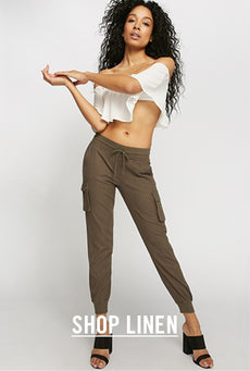 Urban Planet - Shop Women's Linen Pants & Trousers