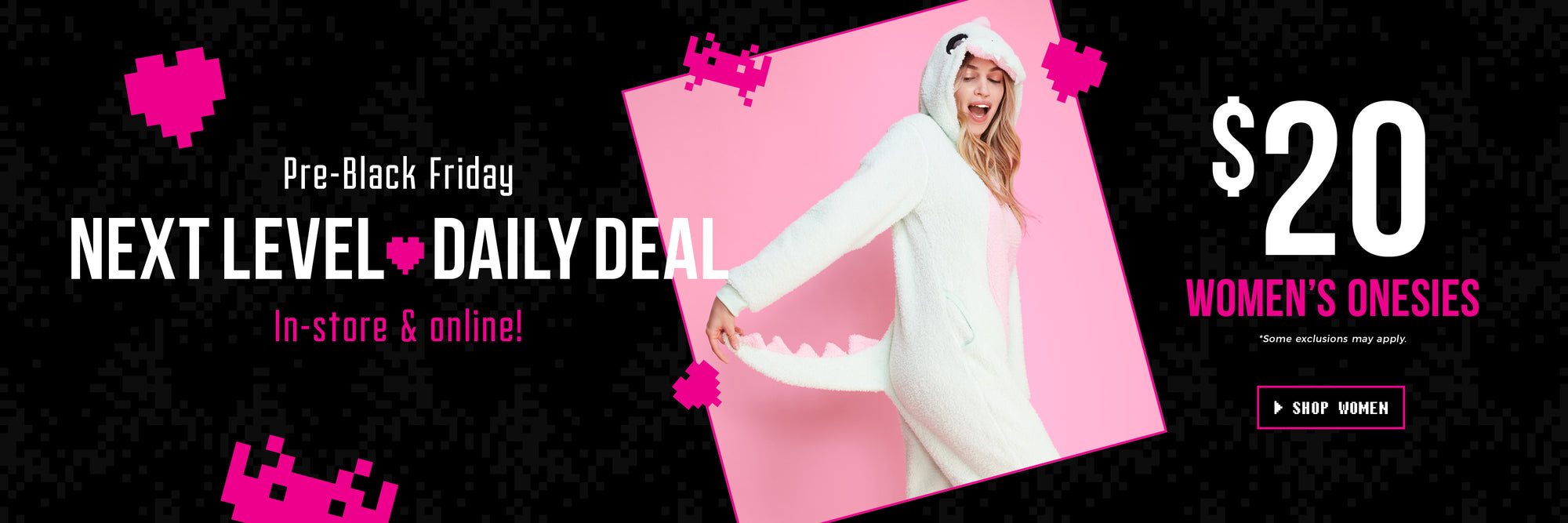 Daily Deal - $20 Women's Onesies