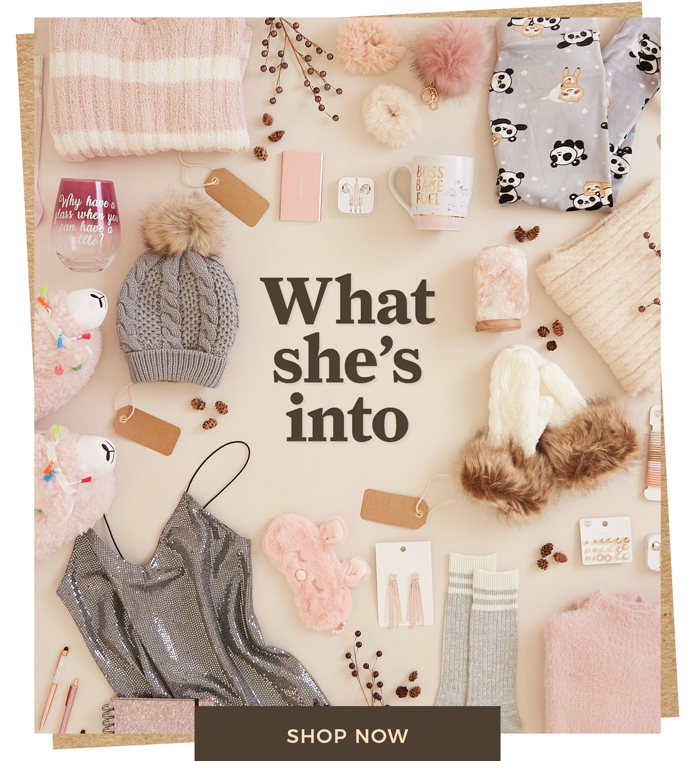 Urban Planet | What she's into - Shop Now