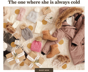 Urban Planet | The one where she is always cold - Shop now