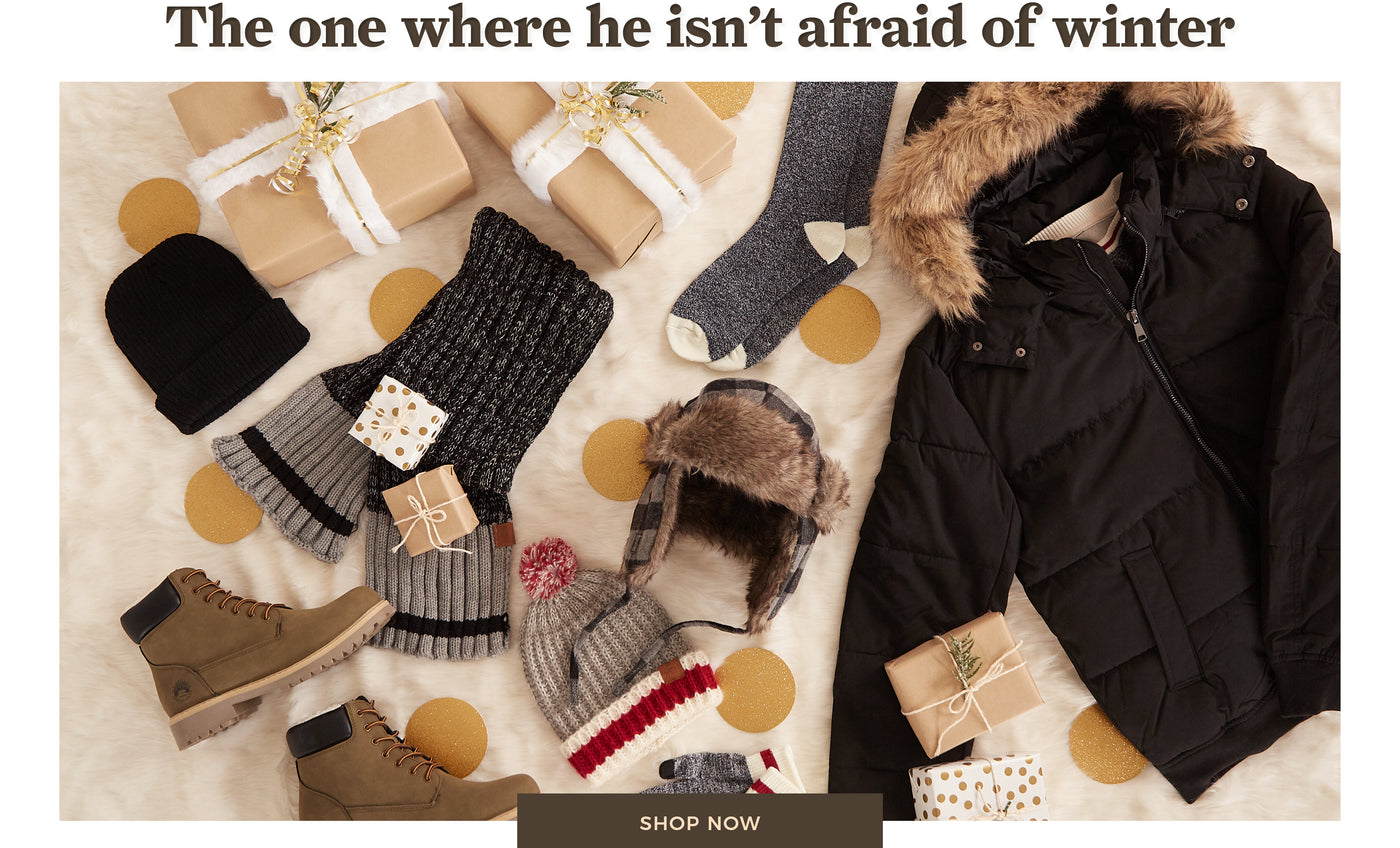 Urban Planet | The one where he isn't afraid of winter - Shop now