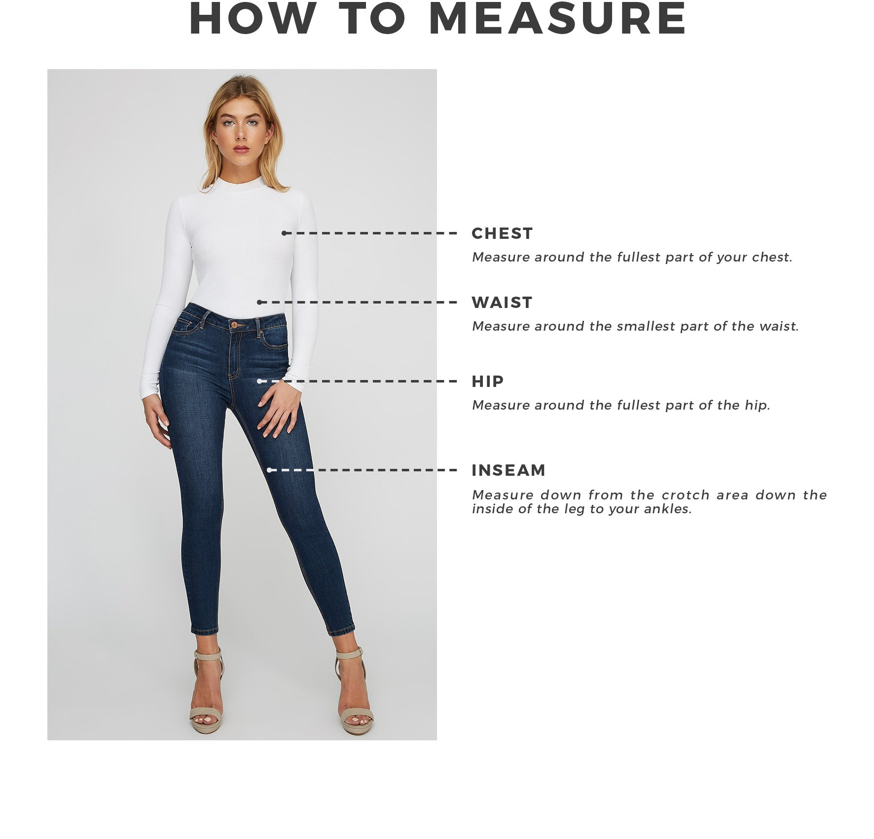 85c9dc234caa3 Urban Planet - Women s How To Measure