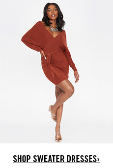 Sweater Dresses Promotion