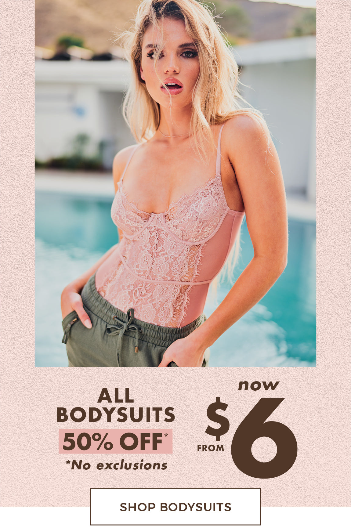 Sirens | Shop Bodysuits at 50% Off