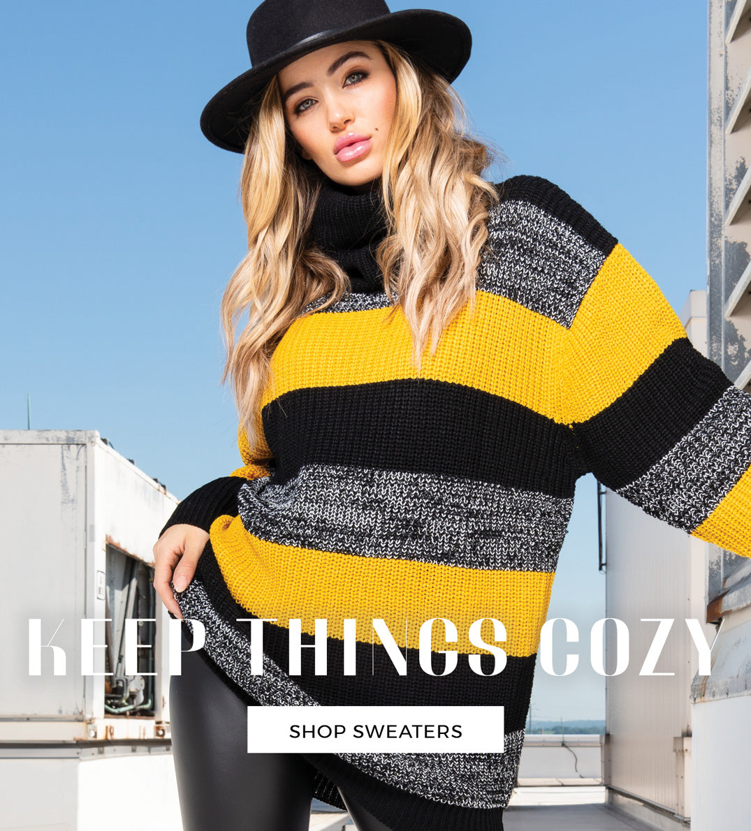 Keep Things Cozy - Shop Sweaters