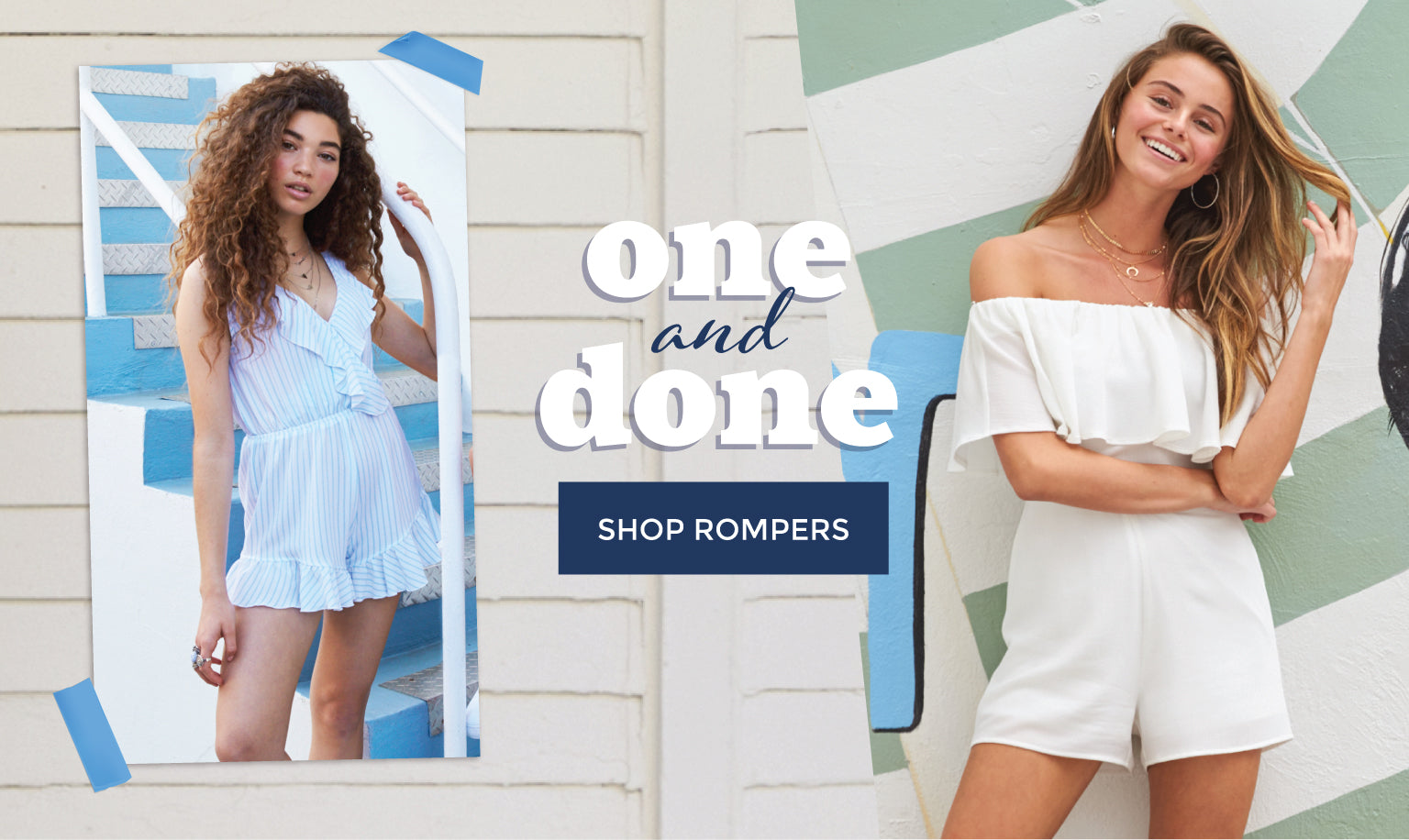 One and Done - Shop Rompers