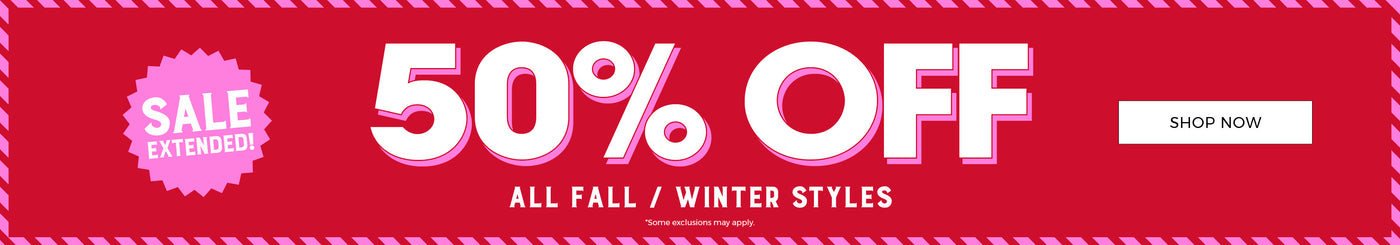 Stitches | Sale Extended! 50% Off Fall + Winter - Shop Now
