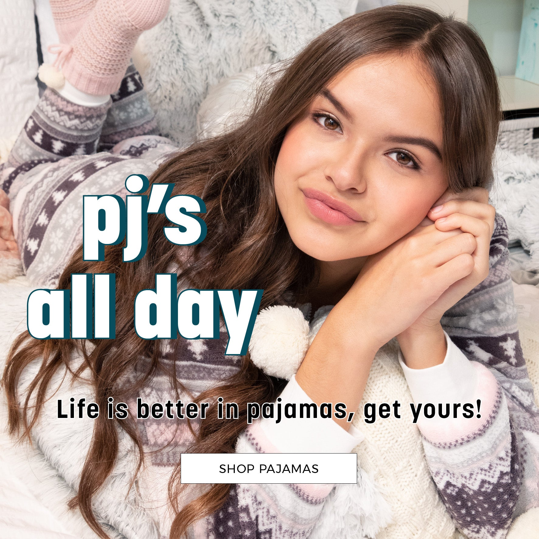 Stitches | PJ's all day - Life is better in pajamas! Shop Now
