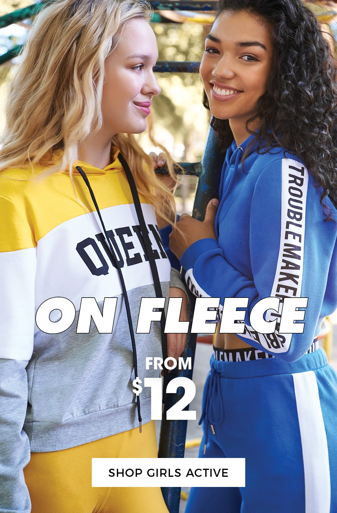 On Fleece! Active from $12 - Shop Girls Active
