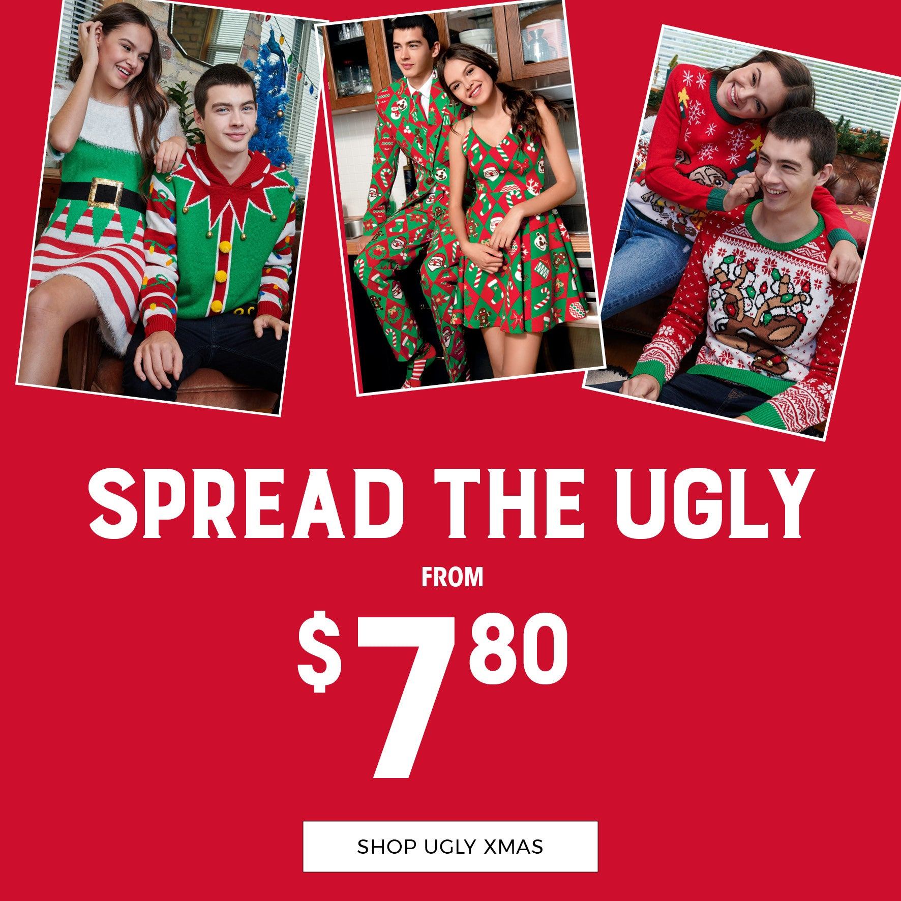 Stitches | Spread The Ugly - Shop Ugly Xmas from $7.80