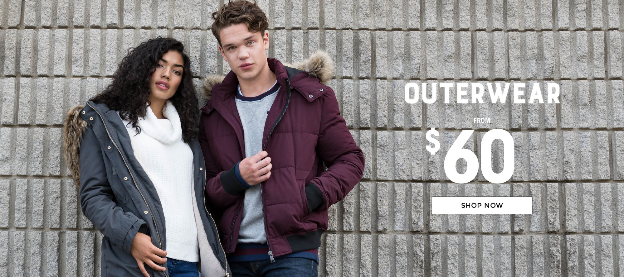 Stitches | Outerwear from $60 - Shop Now