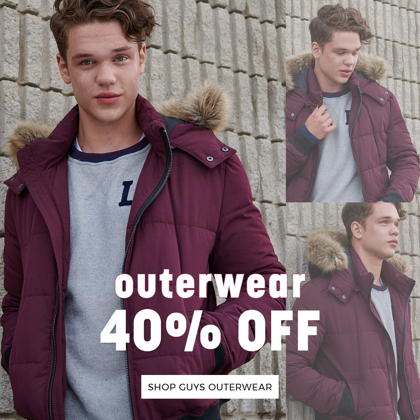 Stitches | 40% Off - Shop Guys Outerwear