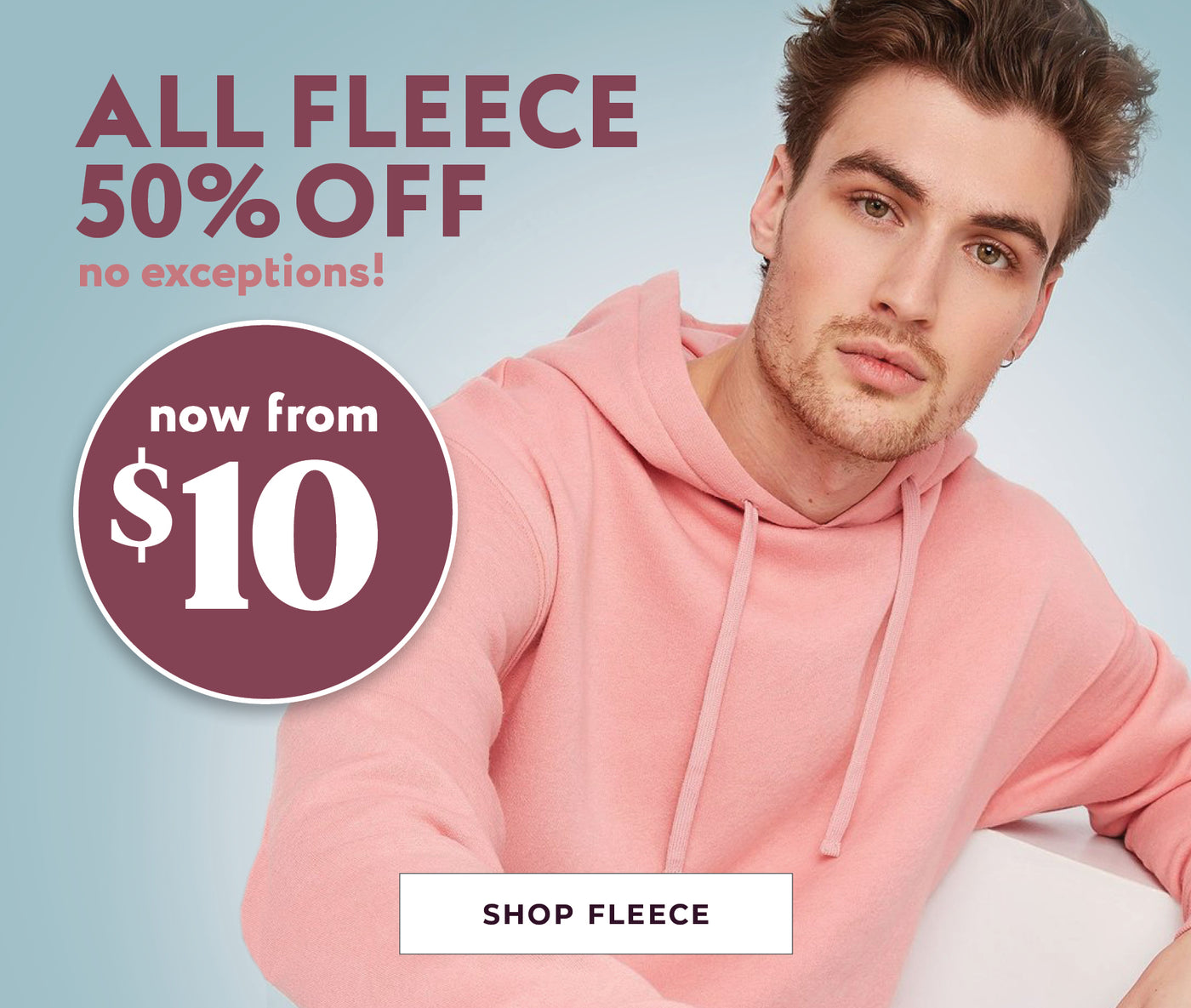 All Mens Fleece - 50% Off - Now from $10