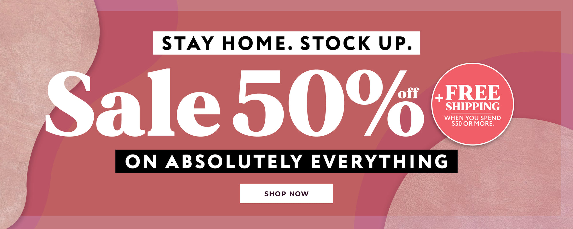 Urban Planet | Stay Home. Stock Up. 50% Off + Free Shipping on orders over $50