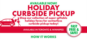 Holiday Curbside Pickup - Available Now