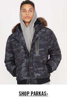 Jackets + Coats Parkas Promotion