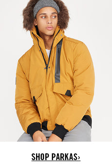 Urban Planet | Shop Men's Parkas