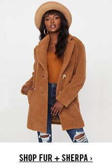 Urban Planet | Shop Sherpa Jackets