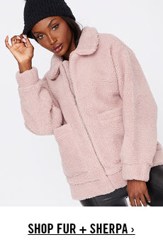 Outerwear Fur + Sherpa Promotion