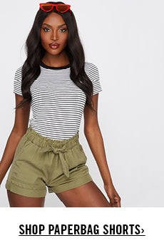 Urban Planet | Shop Paperbag Shorts