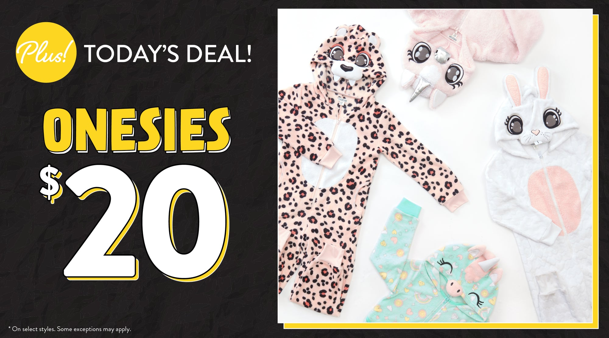 Black Friday - $20 Onesies