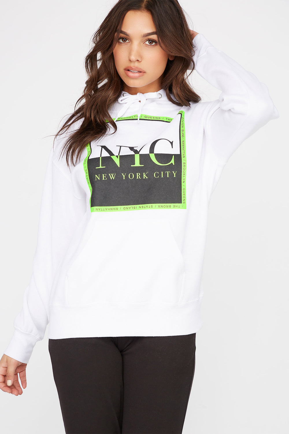 Graphic Best Ever Hoodie White