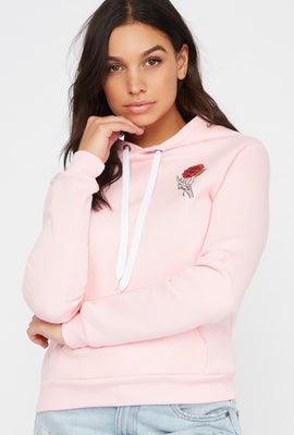 Forever Or Never Rose Hoodie
