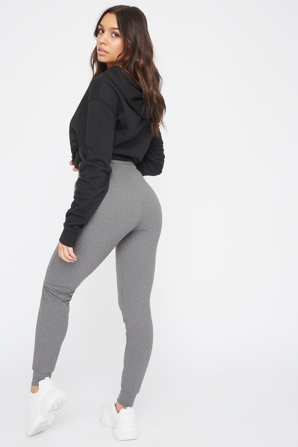 Super Soft Jogger Heather Grey