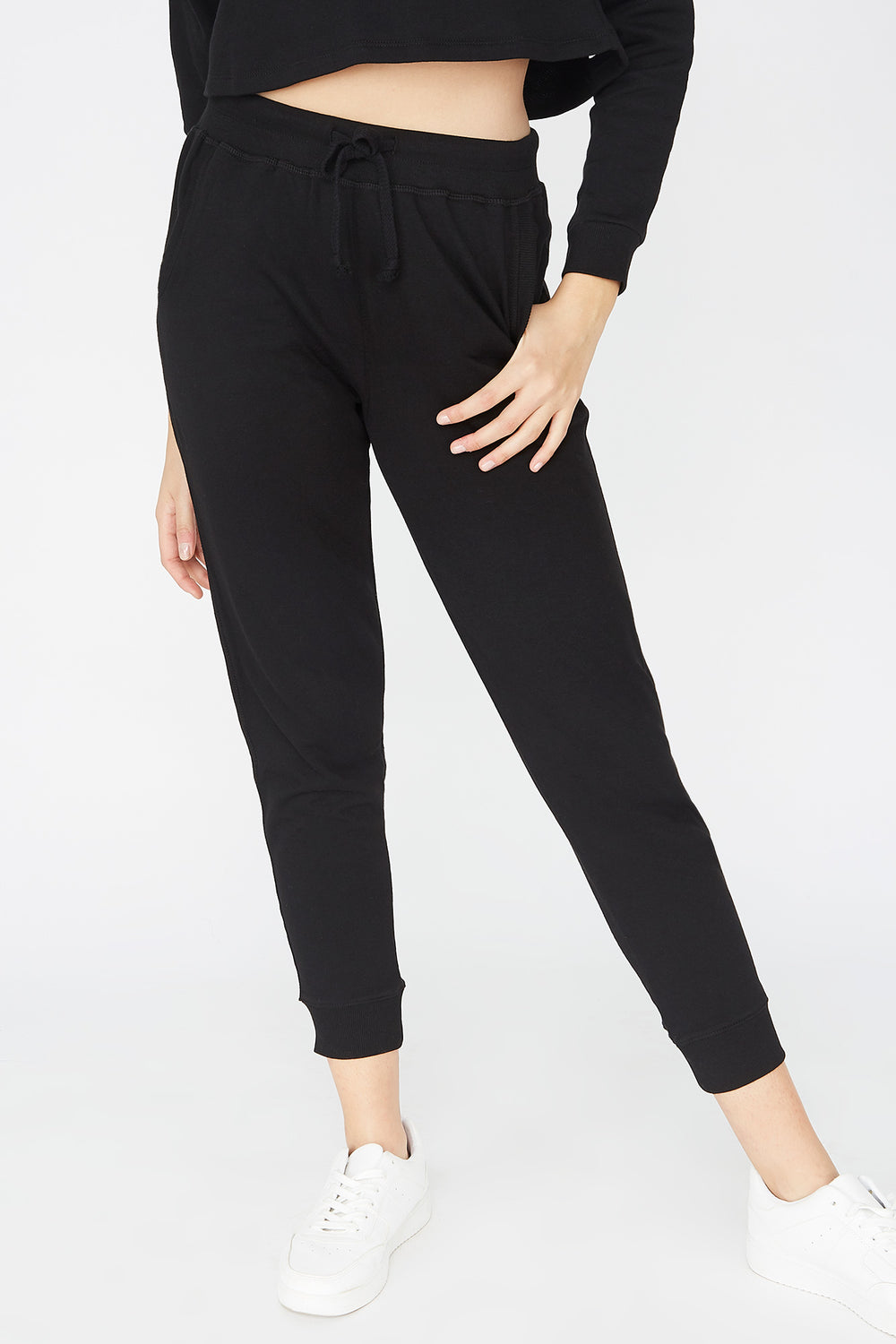 French Terry Jogger Black