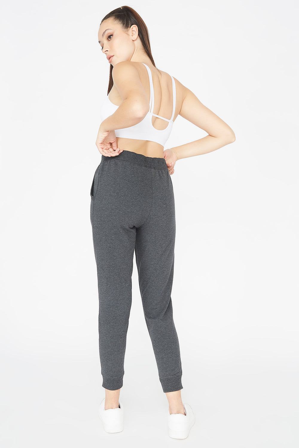 French Terry Jogger Charcoal