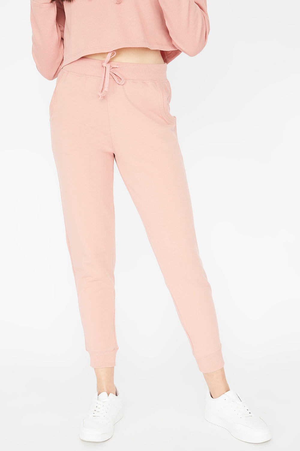 French Terry Jogger Mauve