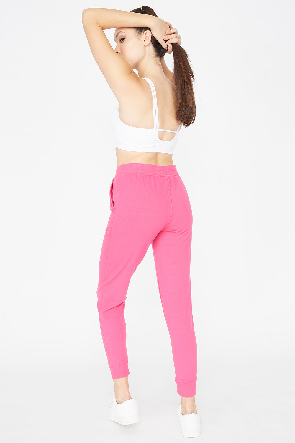 French Terry Jogger Fuchsia