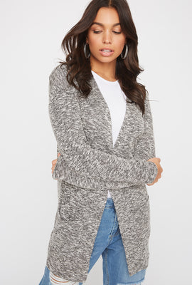 Long Sleeve Open-Front Cardigan