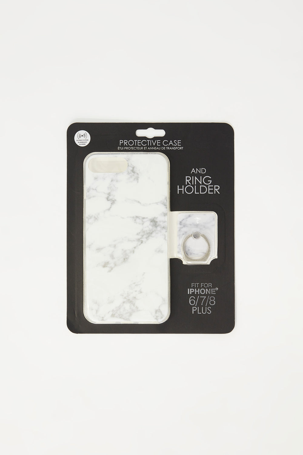 Ring Holder iPhone Plus Case Set White