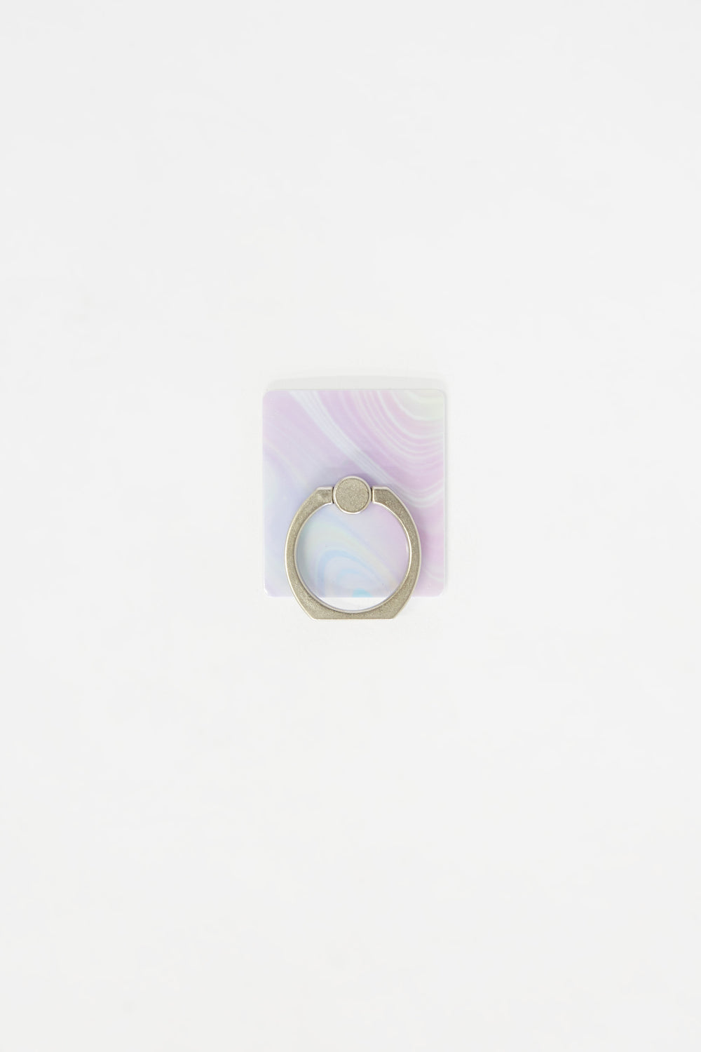 Ring Holder iPhone Case Set Silver