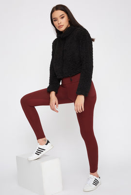 Soft Dual Pocket High-Rise Legging
