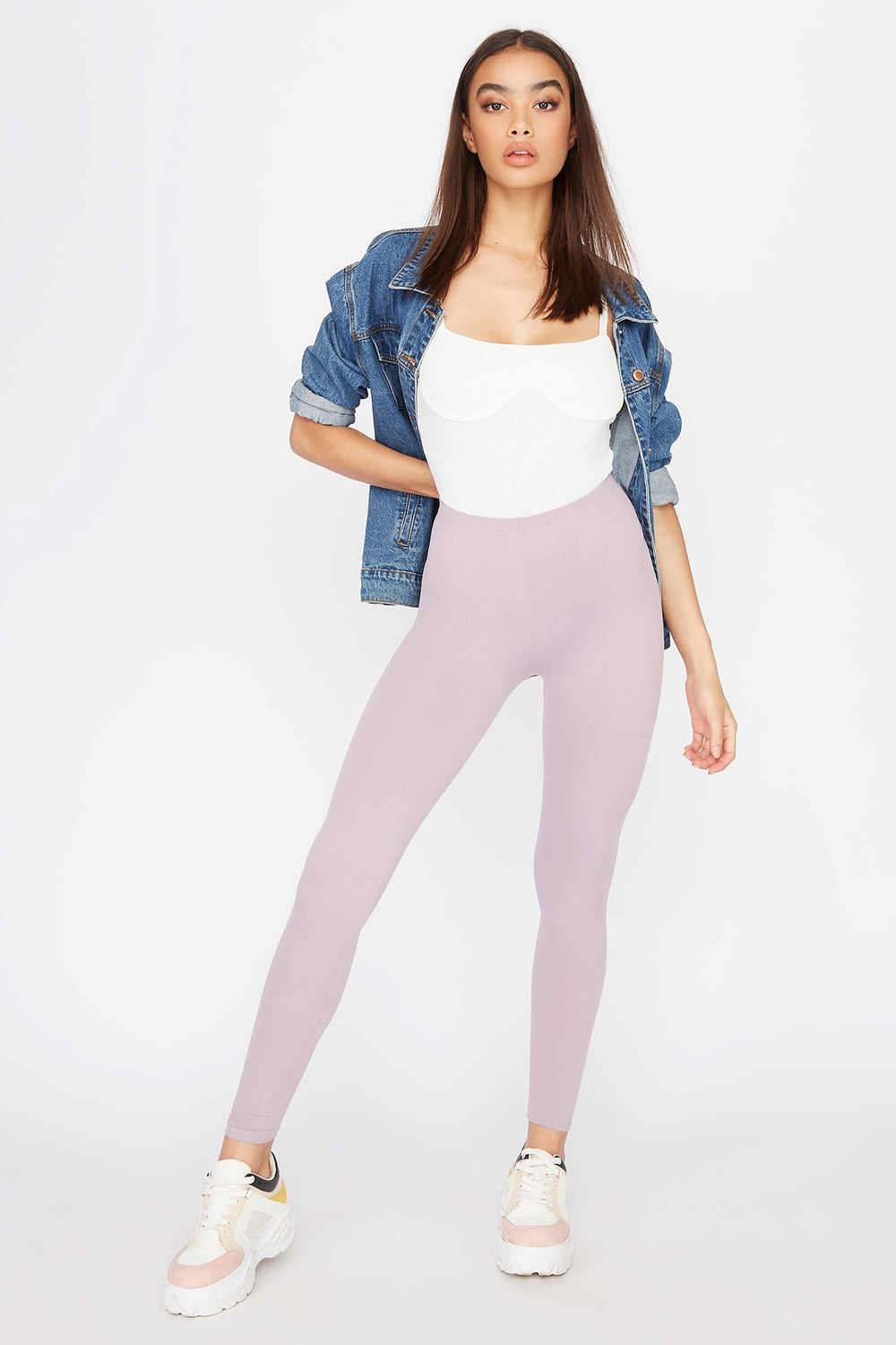 Basic Soft Legging Lilac