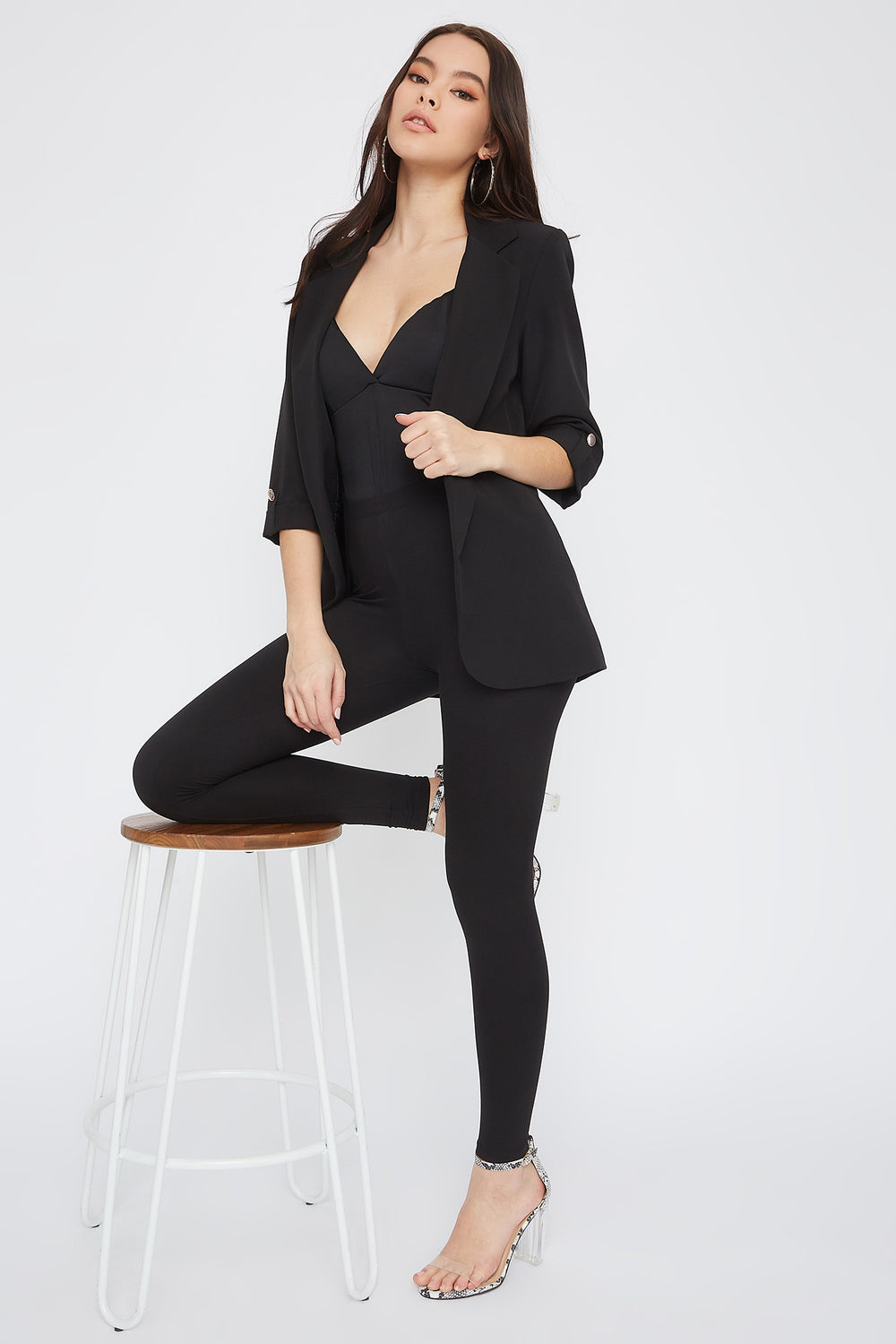 Soft Basic High-Rise Legging Black