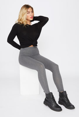 Grey Basic Legging