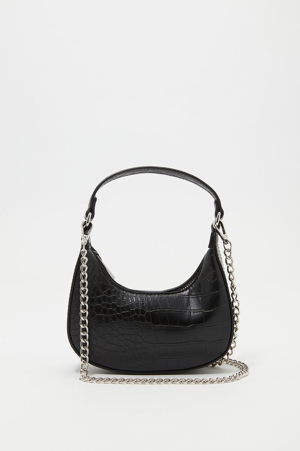 Mini Chain Strap Shoulder Bag Black