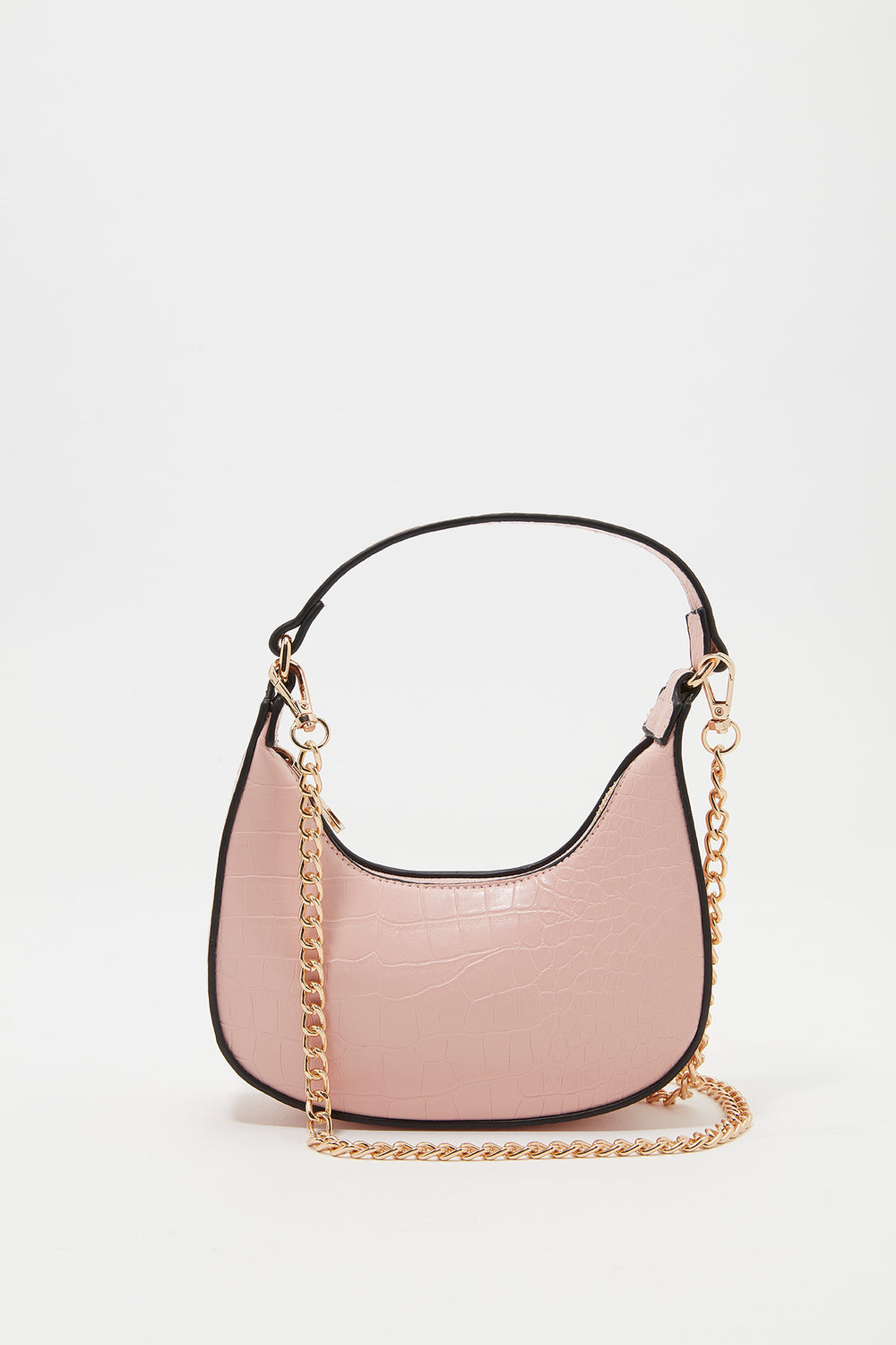 Mini Chain Strap Shoulder Bag Rose