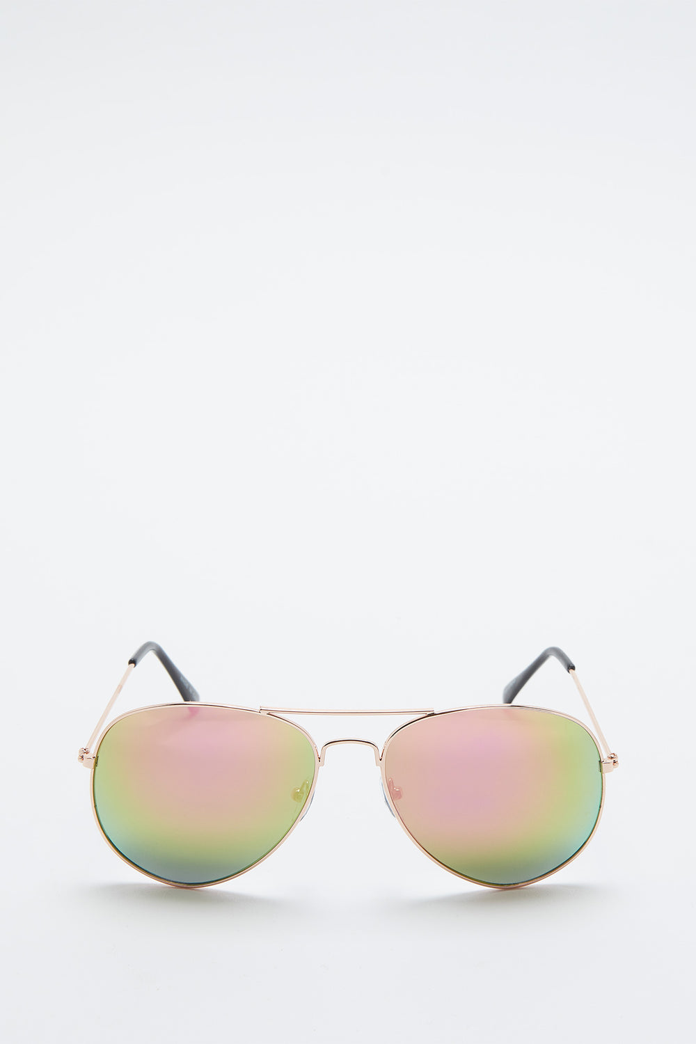 Basic Aviator Sunglasses Pink