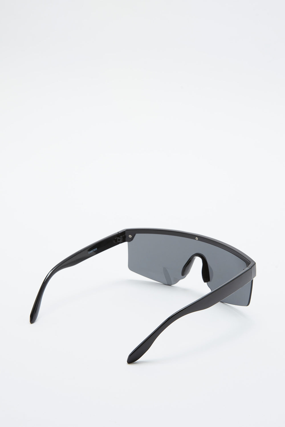 Smokey Oversized Sport Sunglasses Black