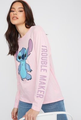 Stitch Graphic Long Sleeve