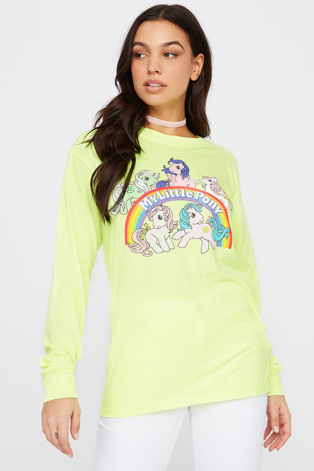 My Little Pony Graphic Long Sleeve Yellow