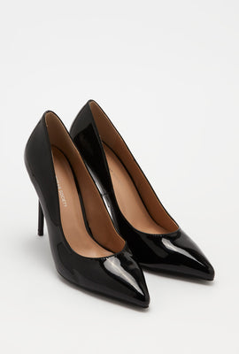 Patent Stiletto Pump