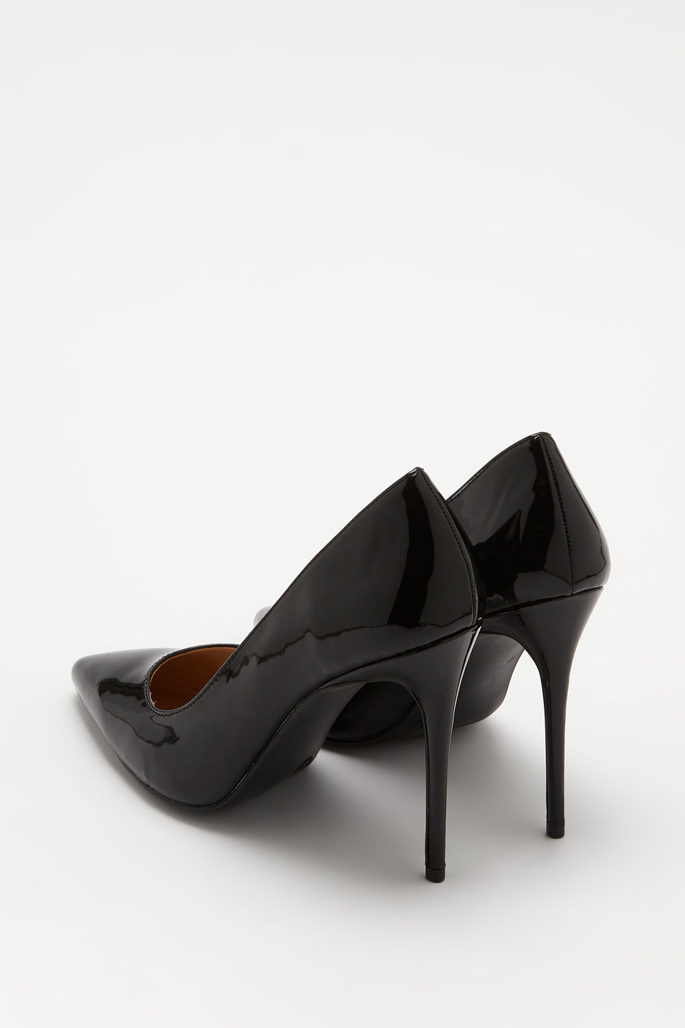 Patent Stiletto Pump Black