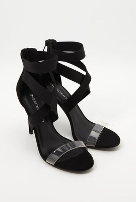 Crossover Strap Stiletto Sandal