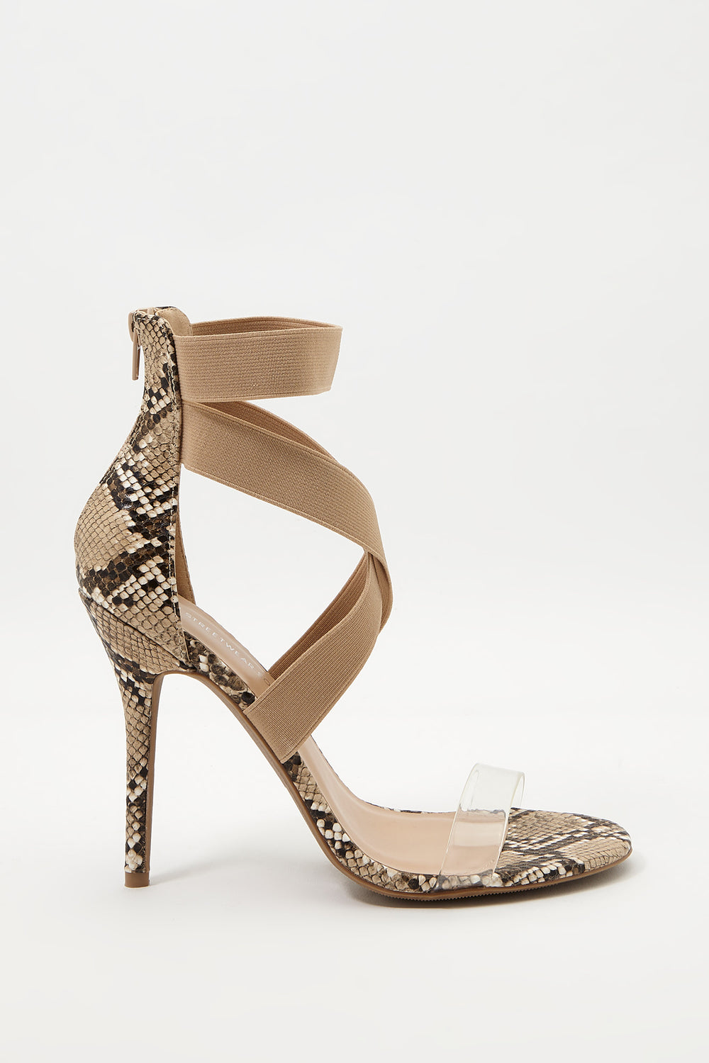 Crossover Strap Stiletto Sandal Assorted