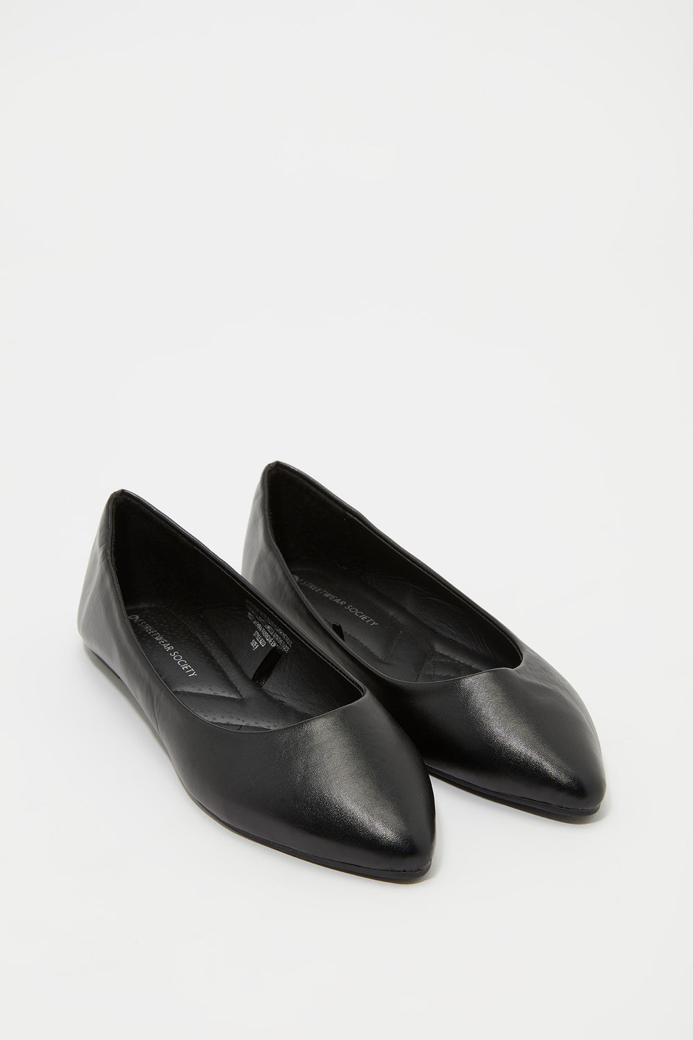 Ballerines pointues Noir de jais